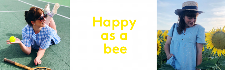 Happy as a bee