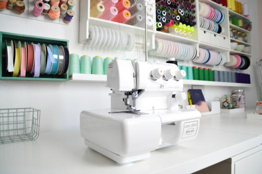 Manuela sewing place