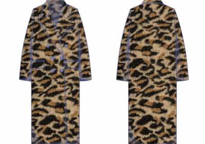 Hunter coat fabric plan