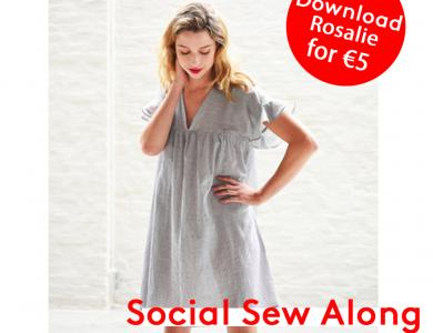 Social Sew Along by Fibre Mood: the Rosalie dress