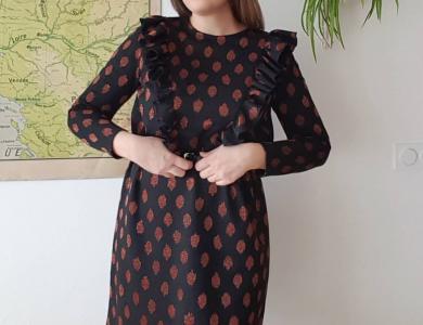 91b6b622ec8803 Werkbeschrijving Rosie jurk